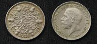 ジョージ5世の6ペンス