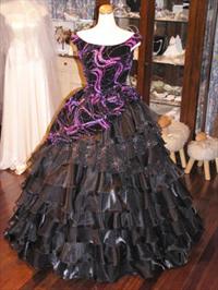 オーダーメイドでお作りしたドレスから