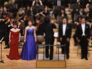 つくばオペラフィオーレ他、ソロでも活躍中のオペラ歌手の田中宏子さん