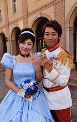 王子様とシンデレラのドレス